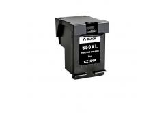 HP 650 XL CZ101A fekete (black) kompatibilis tintapatron