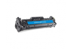 HP 312A CF381A cián (cyan) kompatibilis toner