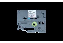 Brother TZ-MQE31 / TZE-MQE31, 12mm x 4m, fekete nyomtatás / rózsaszínű alapon, eredeti szalag