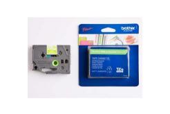 Brother TZ-MQG35 / TZe-MQG35, 12mm x 5m, fehér nyomtatás/zöld alapon, eredeti szalag