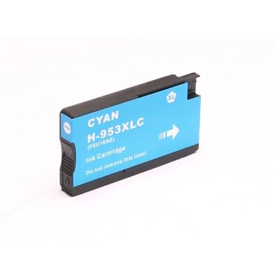 HP 953XL F6U16AE cián (cyan) kompatibilis tintapatron
