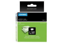 Dymo 1983173, 89mm x 28mm, fehér, eredeti címketekercs
