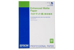 Epson Enhanced Matte Paper, fehér, 50 db, tintasugaras nyomtatás, A2, 192 g/m2