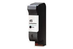 HP 45 51645A fekete (black) kompatibilis tintapatron