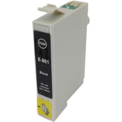 Epson T0801 fekete (black) kompatibilis tintapatron