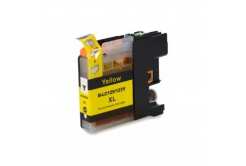 Brother LC-125XL/LC-127XL sárga (yellow) kompatibilis tintapatron