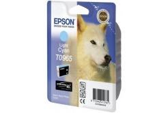 Epson T09654010 világos cián (light cyan) eredeti tintapatron, prošlá expirace
