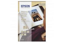 Epson S042153 Premium Glossy Photo Paper, fotópapírok, fényes, fehér, 10x15cm, 255 g/m2, 40 db