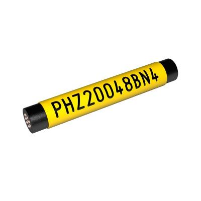 Partex PHZF20032DN9, fehér, 25m, lapos, PHZ zsugorcső kerek tanúsítvánnyal ellátott