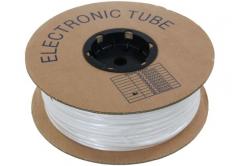 Feliratozható PVC cső kerek BA-60, 6 mm, 200 m, fehér