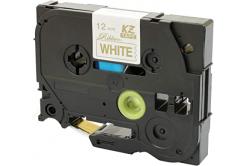 Brother TZ-R234 / TZE-R234, 12mm x 4m, arany nyomtatás / fehér alapon, eredeti szalag