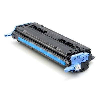 HP 124A Q6001A cián (cyan) kompatibilis toner
