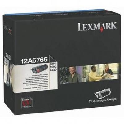 Lexmark 12A6765 fekete (black) eredeti toner