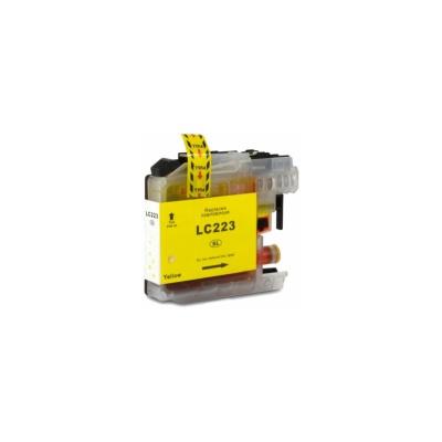 Brother LC-223XL sárga (yellow) kompatibilis tintapatron