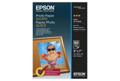 Epson S042545 Glossy Photo Paper, fotópapírok, fényes, fehér, 13x18cm, 200 g/m2, 50 db