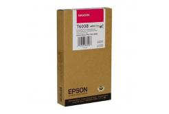 Epson C13T603B00 bíborvörös (magenta) eredeti tintapatron