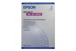 Epson S041068 Photo Quality InkJet Paper, fotópapírok, matt, fehér, A3, 105 g/m2, 720dpi, 100 db