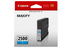 Canon eredeti tintapatron PGI-2500 C, cyan, 9.6ml, 9301B001, Canon MAXIFY iB4050,iB4150,MB5050,MB5150,MB5350,MB5450