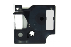 Dymo 1805418, 19mm x 5, 5m fehér nyomtatás / barna alapon, vinyl, kompatibilis szalag