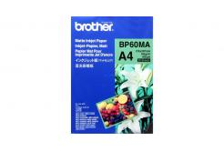 Brother BP60MA Matte Inkjet Paper, fotópapírok, matt, fehér, A4, 145 g/m2, 25 db, tintasugaras nyomtatás
