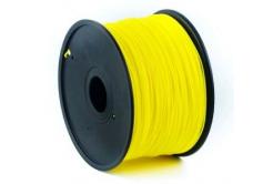 GEMBIRD filament ABS, 1,75mm, 1kg, sárga