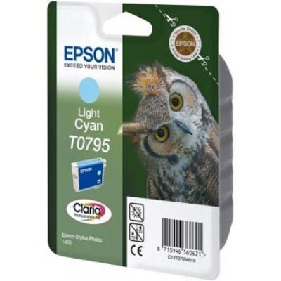 Epson C13T079540 világos cián (light cyan) eredeti tintapatron