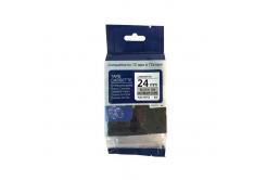 Brother TZ-M951 / TZe-M951, 24mm x 8m, fekete nyomtatás / ezüst alapon, kompatibilis szalag