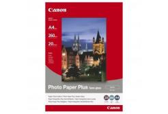 Canon SG-201 Photo Paper Plus Semi-Glossy, fotópapírok, félig fényes, szatén, fehér, A4, 260 g/m2, 20db