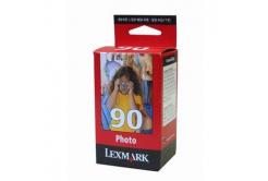 Lexmark 90 12A1990E fotó színes (photo color) eredeti tintapatron