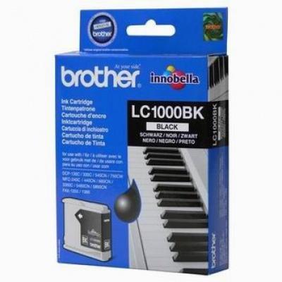 Brother LC-1000BK fekete (black) eredeti tintapatron