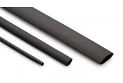 Partex smršťovací bužírka HSDW 3 -6, 3:1, 2,0-6,0 mm, 1,2 m, fekete
