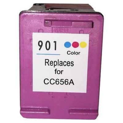 HP 901XL CC656A színes kompatibilis tintapatron