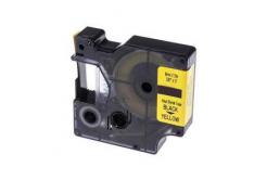 Dymo 18054, S0718290, 9mm x 1, 5m fekete nyomtatás / sárga alapon, kompatibilis szalag