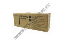 Kyocera Mita TK-500M bíborvörös (magenta) eredeti toner