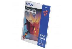 Epson S041061 Photo Quality InkJet Paper, fotópapírok, matt, fehér, A4, 104 g/m2, 720dpi, 100 db