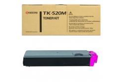 Kyocera Mita TK-520M bíborvörös (magenta) eredeti toner