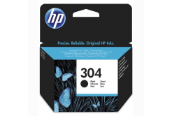 HP 304 N9K06AE fekete (black) eredeti tintapatron