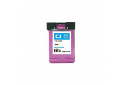 HP 650 XL CZ102A színes kompatibilis tintapatron
