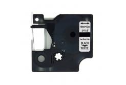 Dymo 18057, S0718330, 19mm x 1, 5m fekete nyomtatás / fehér alapon, kompatibilis szalag