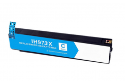 HP 973X F6T81AE cián (cyan) kompatibilis tintapatron