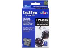 Brother LC-980BK fekete (black) eredeti tintapatron
