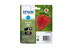 Epson T29824022, T29 cián (cyan) eredeti tintapatron
