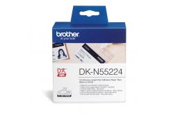 Brother DK-N55224, 54mm x 30,48m, fehér, címketekercs