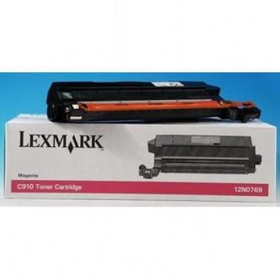 Lexmark 12N0769 bíborvörös (magenta) eredeti toner