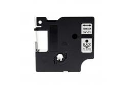 Dymo 45800, S0720820, 19mm x 7m, fekete nyomtatás / átlátszó alapon, kompatibilis szalag