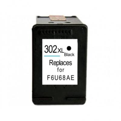 HP 302XL F6U68AE fekete (black) kompatibilis tintapatron