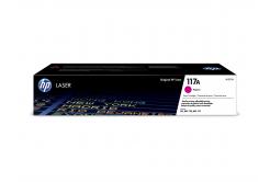 HP 117A W2073A bíborvörös (magenta) eredeti toner