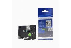 Brother TZ-S131/TZe-S131 12mm x 8m erősen ragadó, fekete nyomtatás/ átlátszó alapon, kompatibilis szalag