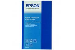 Epson S045052 Traditional Photo Paper, fotópapírok, szatén, fehér, A2, 330 g/m2, 25 db