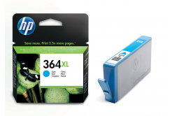 HP 364XL CB323EE cián (cyan) eredeti tintapatron